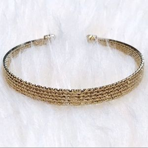 *NWT* BP Gold Sparkly Cuff Bracelet